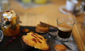 Le café gourmand du restaurant la Casetta à Meylan