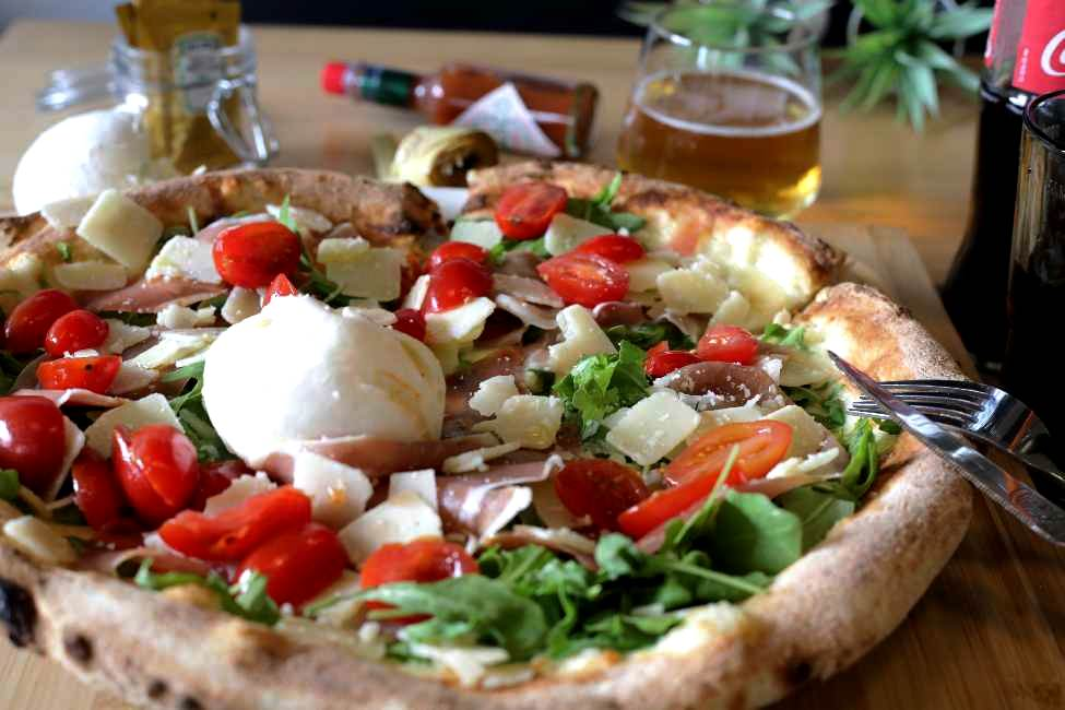 Pizza à emporter Meylan BURRATA