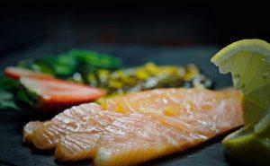 Le poisson de la carte du restaurant la Casetta à Meylan